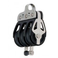 Seldén 20mm Triple/Becket Block -  Ball Bearing