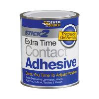 Sika Everbuild Extra Time Contact Adhesive 750ml