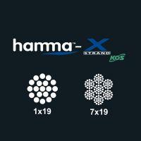 Hamma Wire by KOS X-Strand Wire - 7x19