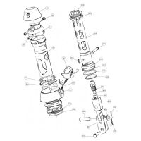 Seldén Lower Swivel for Furlex 200S - Spare Part Packs
