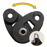 Antal Mini Snatch Block with Shackle -  Ø 32mm