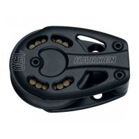 Harken Black Magic Footblock - 125mm Aluminum Footblock