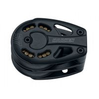 Harken Black Magic Footblock - 57 mm Aluminum Double Footblock