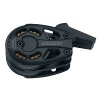 Harken Black Magic Footblock - 75 mm Aluminum Double Footblock Lockoff