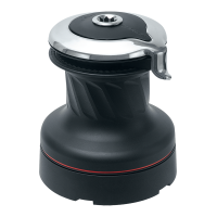 Harken 60 Self-Tailing Radial Winch — 2 Speed