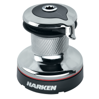 Harken 40 Self-Tailing Radial Winch — 2 Speed - Chrome