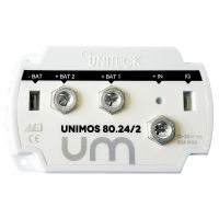 Uniteck UNIMOS BATTERY ISOLATOR 12/24V - 2 OUTPUTS