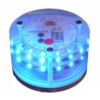 Mantagua LED Police Flashing Blue Colour 360°