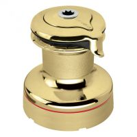 Harken Self-Tailing Radial Polished Bronze Winch — 2 Speed